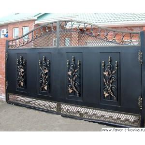 Кованые ворота43