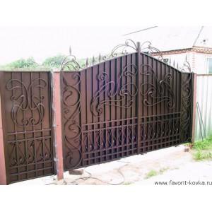 Кованые ворота47