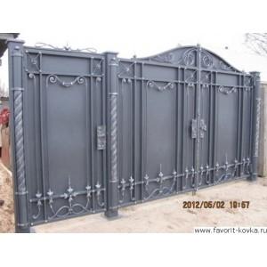 Кованые ворота62