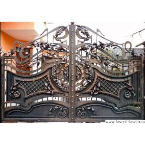 Кованые ворота63