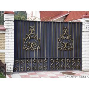Кованые ворота64