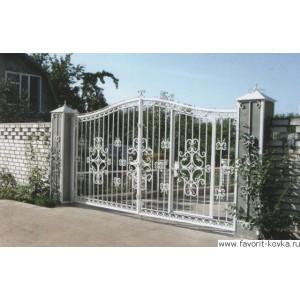 Кованые ворота67