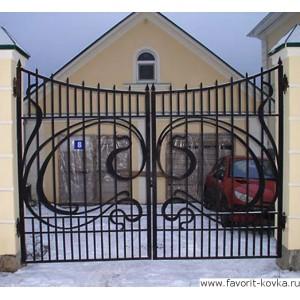 Кованые ворота68