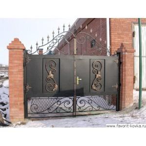 Кованые ворота69