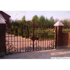 Кованые ворота80