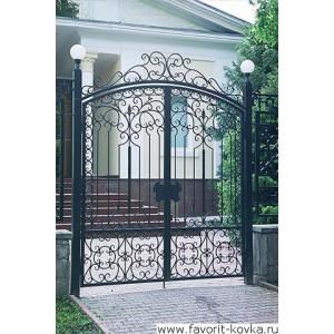 Кованые ворота86