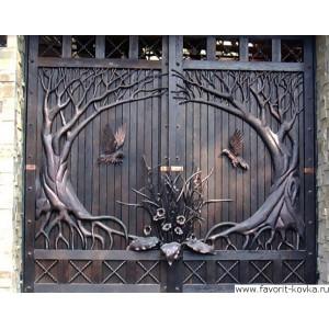 Кованые ворота88