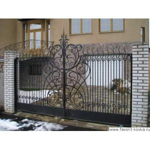 Кованые ворота96
