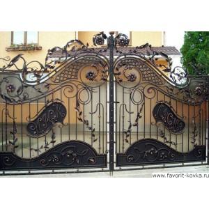 Кованые ворота98