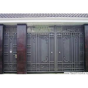 Кованые ворота99