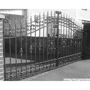 Кованые ворота103
