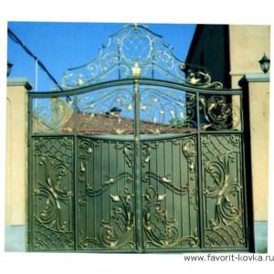 Кованые ворота104