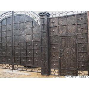 Кованые ворота105