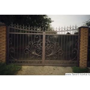 Кованые ворота109