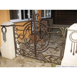 Кованые ворота112