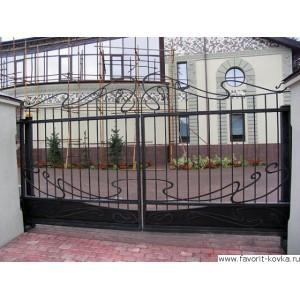 Кованые ворота113