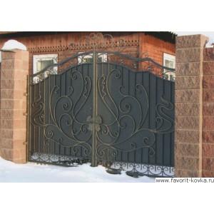 Кованые ворота115