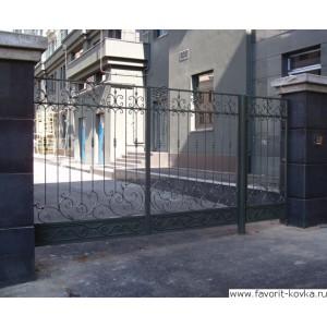 Кованые ворота118