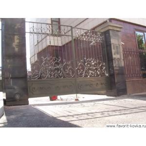 Кованые ворота119