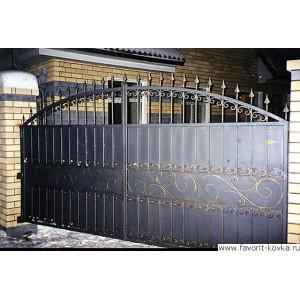 Кованые ворота121