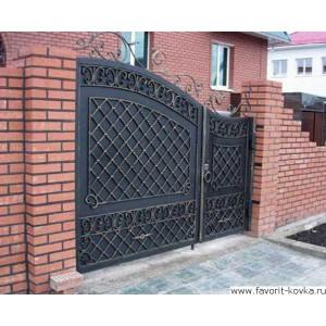 Кованые ворота123