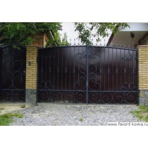 Кованые ворота126