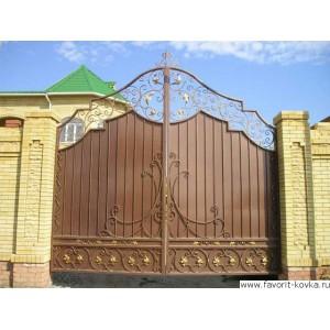 Кованые ворота127