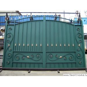 Кованые ворота135