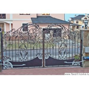 Кованые ворота139