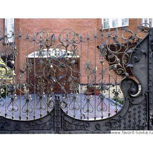 Кованые ворота144