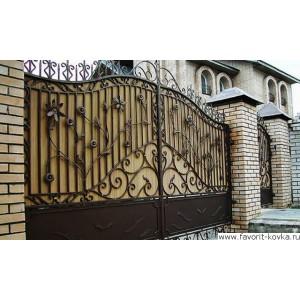 Кованые ворота159