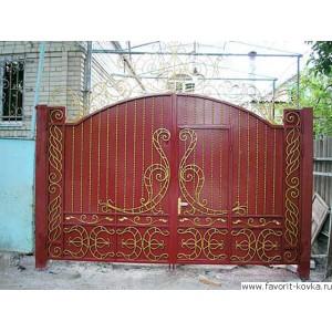 Кованые ворота160