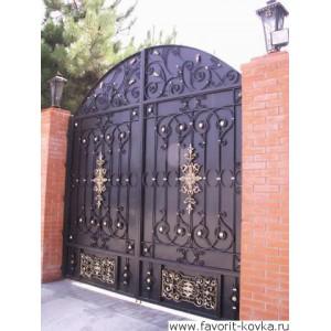 Кованые ворота164