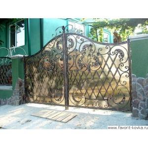 Кованые ворота169