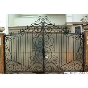 Кованые ворота170