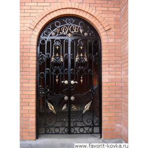 Кованые ворота173