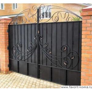 Кованые ворота177