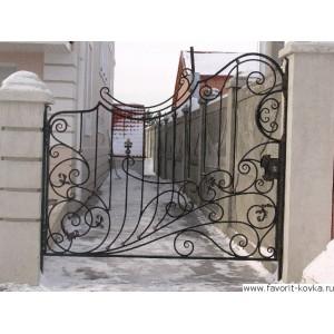 Кованые ворота181