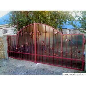 Кованые ворота182