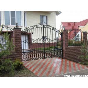 Кованые ворота192