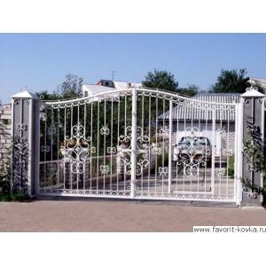 Кованые ворота193