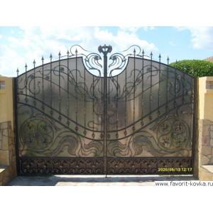 Кованые ворота199