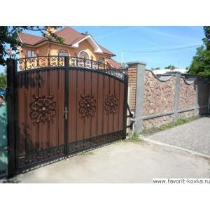 Кованые ворота200
