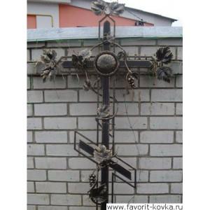Крест кованый2