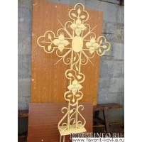Крест кованый8