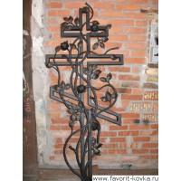 Крест кованый12