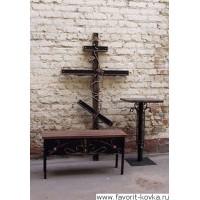 Крест кованый13