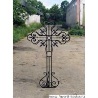 Крест кованый14