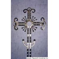 Крест кованый15