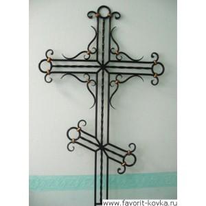 Крест кованый18